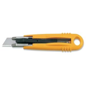 Faca de segurança auto-retrátil OLFA SK4 de 18 mm cor amarela