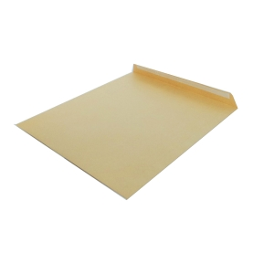 Caixa 250 bolsas castanho LYRECO. Dim: 184x261mm