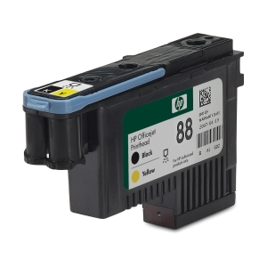Cabeça de tinta HP preto/amarelo C9381A para OfficeJet ProK550