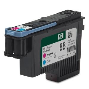 Cabeça de tinta HP 88 magenta/ciano C9382A para OfficeJet Pro K550/5400/5860