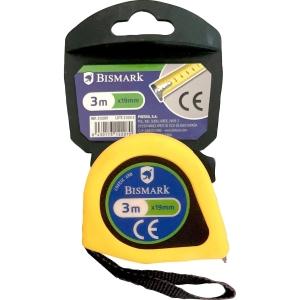 Flexómetro de 3 m com carcaça de plástico e freio