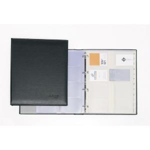 Porta cartões grande capacidade com 20 bolsas extra folio Autograph PARDO