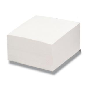 Bloco Lyreco de 500 folhas brancas coladas 90g/m2 Dimensões: 100x100mm