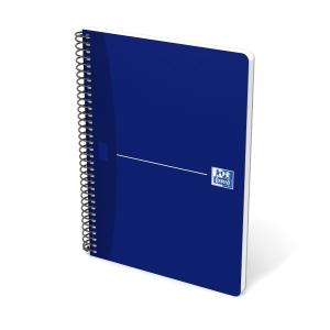 Caderno OXFORD Office tamanho 4º com capa azul