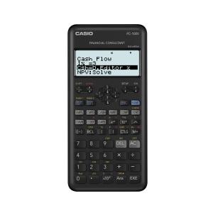 Calculadora financeira CASIO FC-100V de 12 dígitos