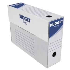 Pack de 50 Caixas de arquivo morto lyreco budget 275x390x115mm