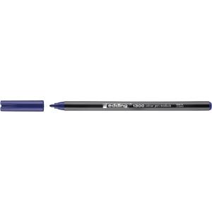 Marcador de ponta de fibra EDDING 1300 cor azul