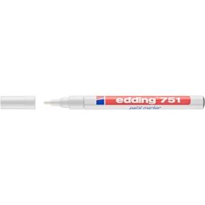 Marcador opaco EDDING 751 cor branco