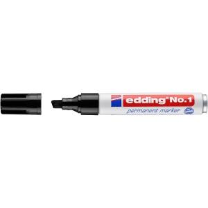 Marcador permanente EDDING Nº 1 cor preta