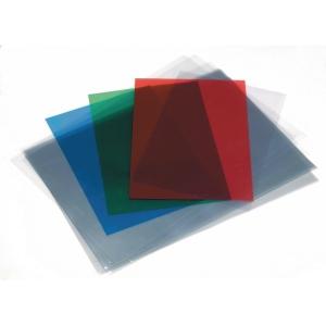 Pack de 100 capas para encadernar A4 em PVC cristal