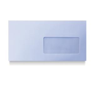 Caixa 500 envelopes brancos DL AUTODEX papel offset janela direita Dim:110x220mm