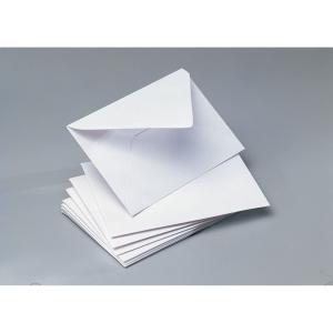 Caixa 100 envelopes brancos p/cartões visita,papel offset CLÁSICO Dim:70x106mm