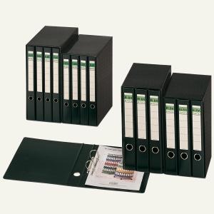 Caixa com 5 Dossier de 2 argolas elba folio preto
