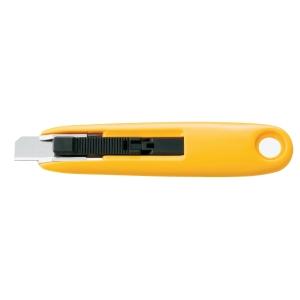 Faca de escritorio auto-retrátil OLFA SK7 de 125 mm cor amarela