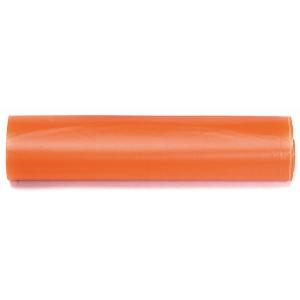 Rolo de 15 bolsas para residuos laranjas 30 l  de 550 x 600 mm