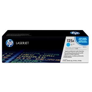 Toner laser HP 125A ciano CB541A para LaserJet Color CP1215/1515 e CM1312