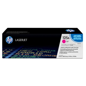 Toner laser HP 125A magenta CB543A para LaserJet Color CP1215/1515 e CM1312