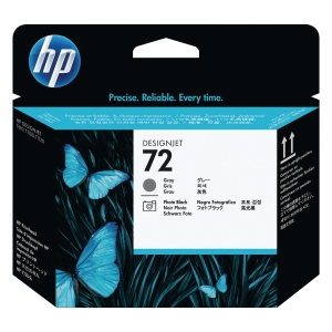 Cabezal  HP 72 cinzento/preto foto C9380A para DesignJet T-610/620/770/1100