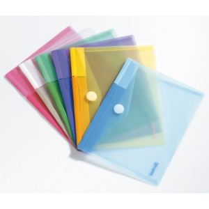 Pack de 6 envelopes porta documentos A5 TARIFOLD