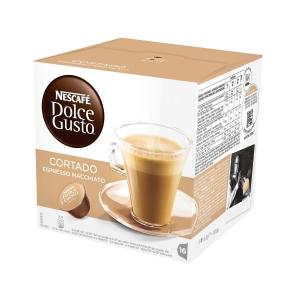 Pack de 16 cápsulas DOLCEGUSTO de café pingado