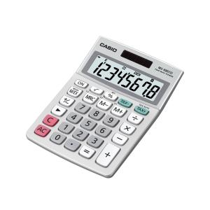 Calculadora de secretária CASIO MS-88ECO de 8 dígitos