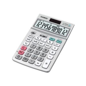 Calculadora de secretária CASIO JF-120ECO de 12 dígitos