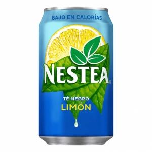 Pack de 24 latas de NESTEA limón 33 cl