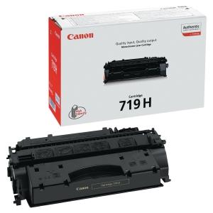 Toner laser CANON preto alta capacidade 719H para LBP-6300/6650