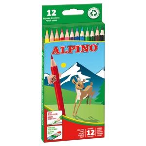 Caixa de 12 lápis de cor ALPINO