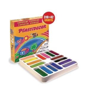 Caixa de 352 lápis de cera plastidecor BIC