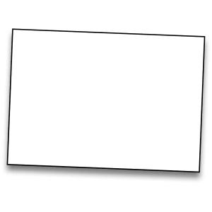 Pack de 25 cartolinas de  50x65 185g/m2  IRIS de cor branco
