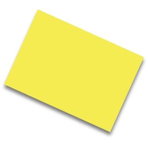 Pack de 25 cartolinas de  50x65 185g/m2  IRIS de cor amarelo