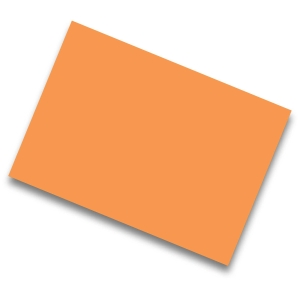 Pack de 25 cartolinas de  50x65 185g/m2  IRIS de cor laranja