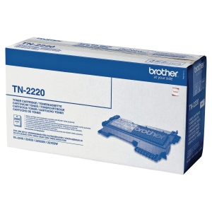 Toner laser BROTHER preto TN-2220 para HL2240/DCP7060 e MFC7360