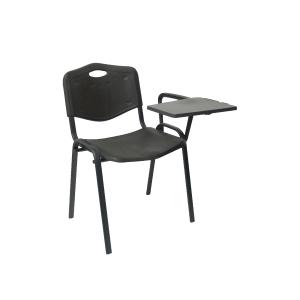Pack de 4 cadeiras de conferencias com pala A2000 cor preto