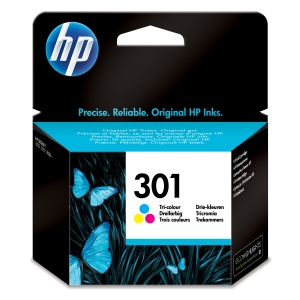 Tinteiro HP 301 tricor CH562EE para DeskJet 1050/2050