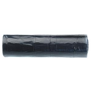 Rolo de 25 bolsas para residuos pretos, 30 l de 540x600 mm