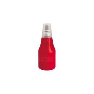 Tinta para carimbo COLOP de 25ml cor vermelho