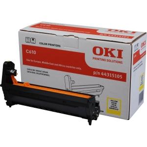 Tambor laser OKI amarelo 44315105 para Serie C-610