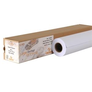 Rolo de papel plotter opaco CAD 90 g/m2 CANSON. Largo: 610 m. Largo: 50 m
