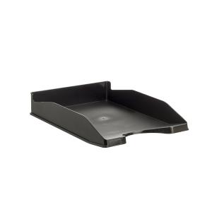 Bandeja portadocumentos LYRECO Budget cor preta Dimensões: 255 x 60 x 345mm