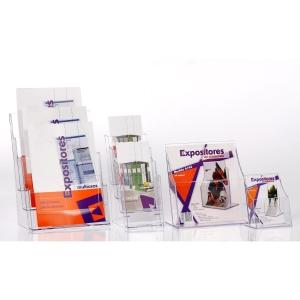 Expositor secretaria transparente individualARCHIVO2000 Dimensões:160 x215x 95mm