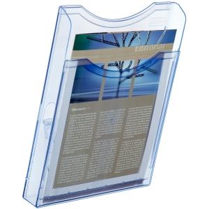 Expositor de parede azul vertical ARCHIVO 2000  Dimensões: 235x300x85mm