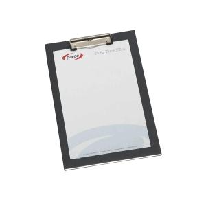 Prancheta PARCO cartaõ forrado pinça metálica Dimensões: 250x350mm Cor preto