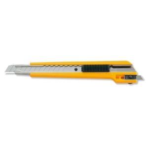 Faca de escritorio OLFA A3 de 9 mm cor amarela