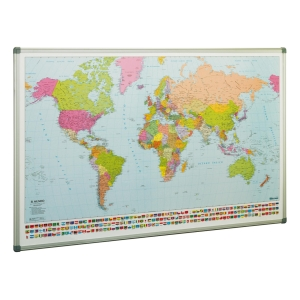 Mapa Mundi magnético FAIBO