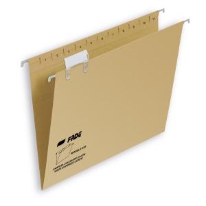 Pack de 25 pastas suspensão visão superior A4 FADE Kiofade