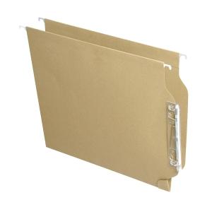 Pack de 25 pastas suspensão visão lateral A4kraft FADE Akufade