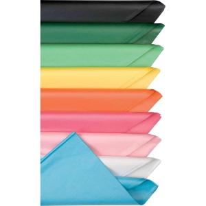 Pack de 25 folhas de papel de seda 51x76cm 18g verde