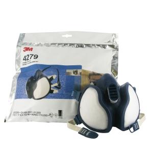 Meia máscara descartável 3M 4279 para vapores e partículas